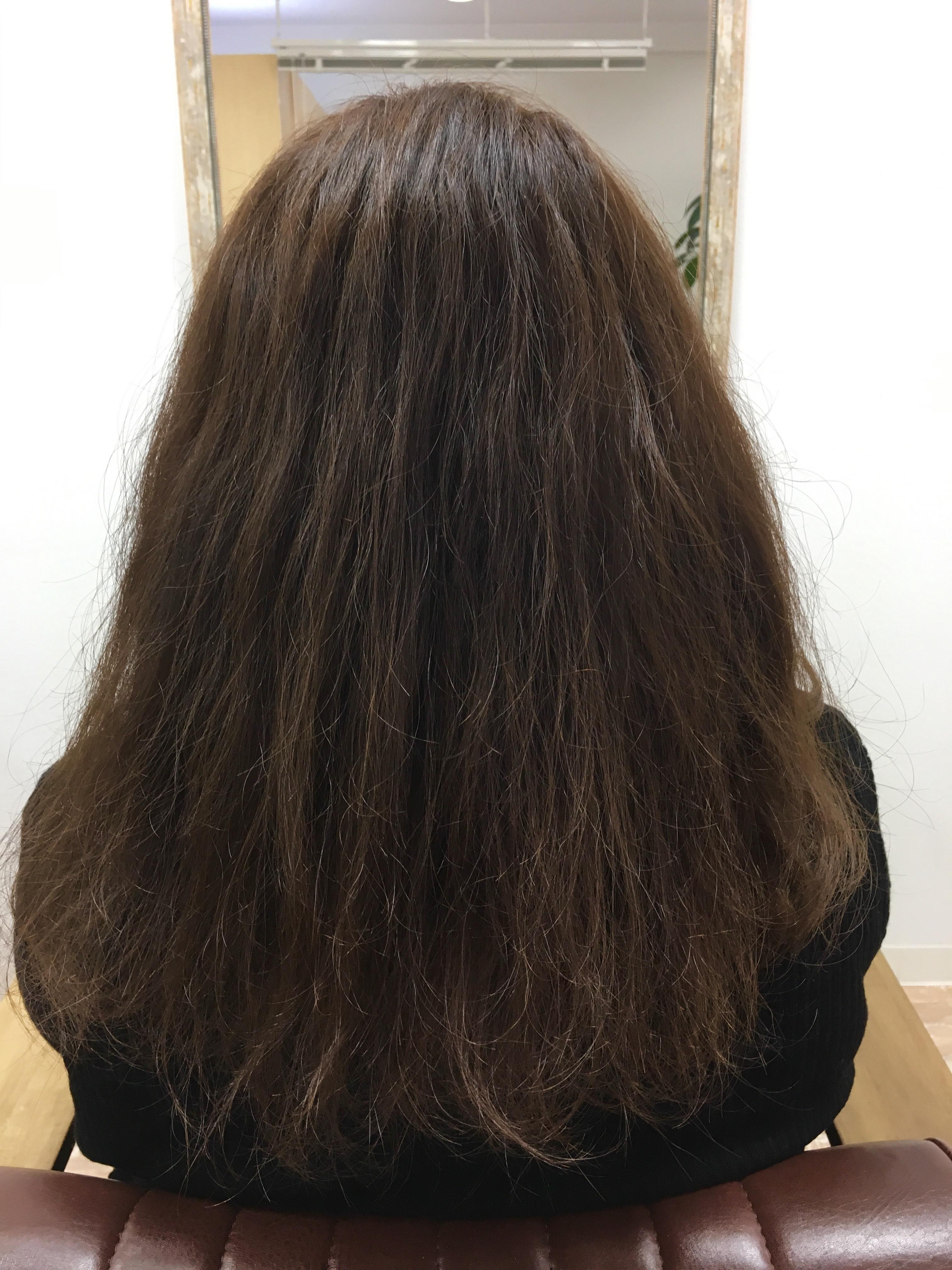 髪を楽しむということ。