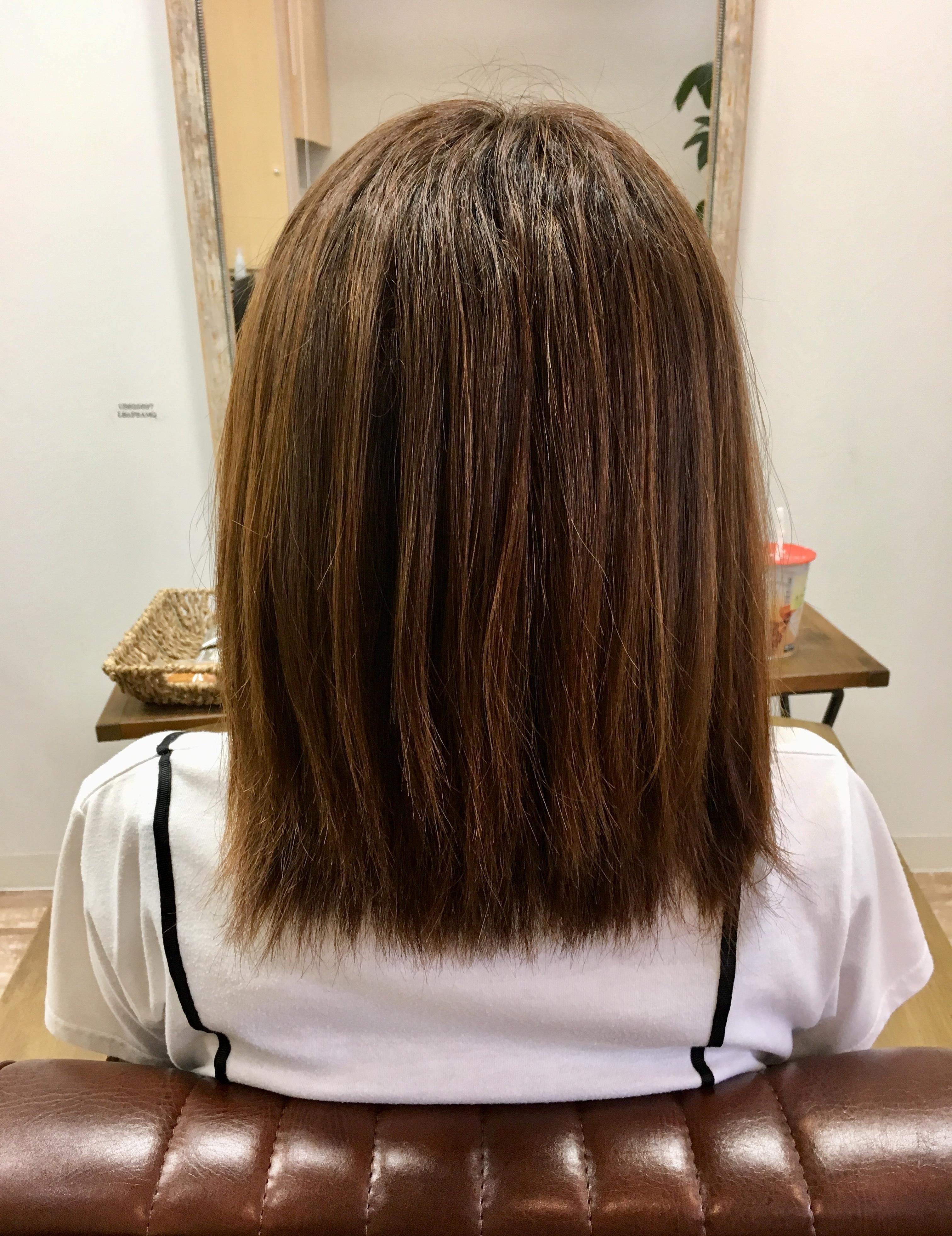 カット以外で髪を軽くする方法。