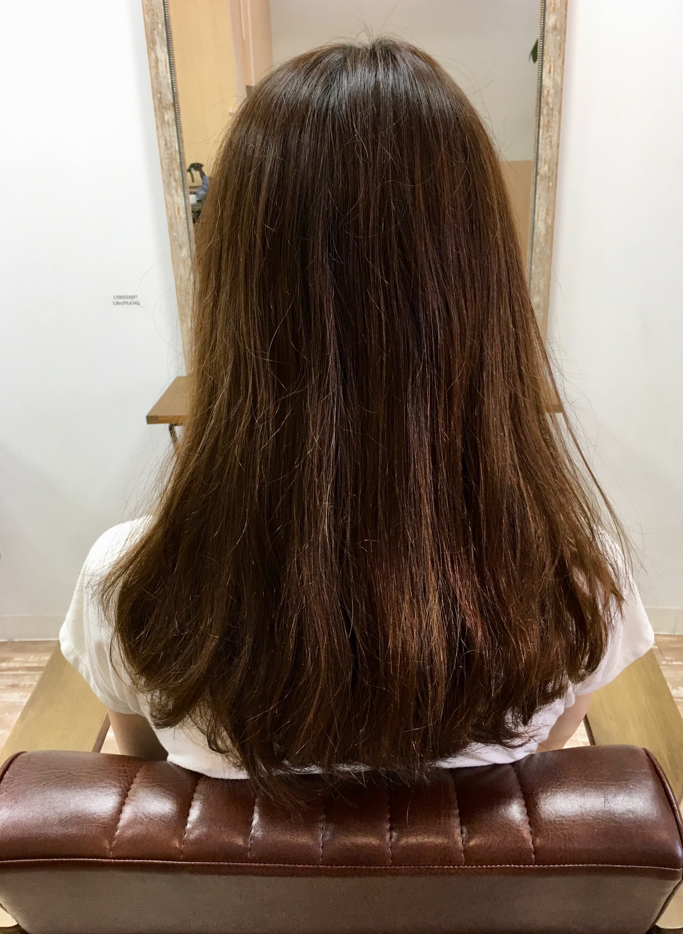 かなり細く繊細な髪質。